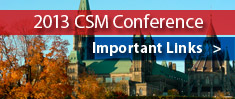 CSM Conference - Important Links