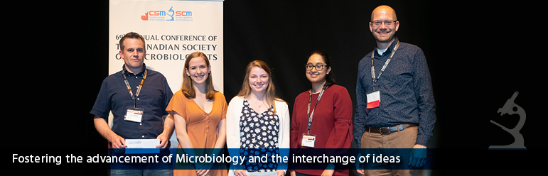 Canadian Society of Microbiologists - Upcoming Conference - 2019 CSM